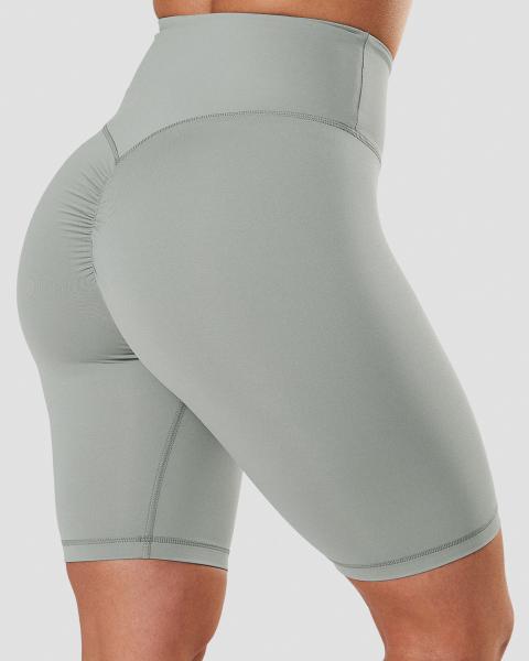 Scrunch V Shape Biker Shorts Black Wmn | Acquista abbigliamento