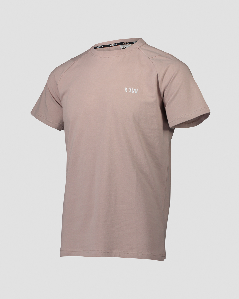 Essential T-shirt Dark Taupe Men